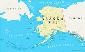 Map Size Comparison Alaska Sightseeing Tours Wildlife National Parks Flightseeing
