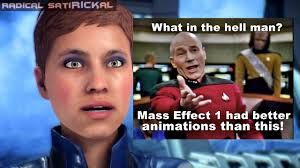 Tired Meme Face - mass effect andromeda sorry my face is tired youtube