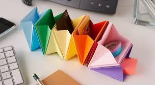 rangement pour bureau un rangement de bureau en origami prima