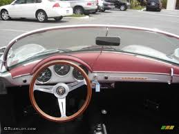 porsche speedster interior 1956 silver porsche 356 speedster recreation 924512 photo 16