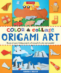 color u0026 collage origami art kit book summary u0026 video official