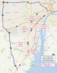 Where Is Chicago On A Map by Traffic Alert Southbound I 75 To Close From Detroit To Downriver