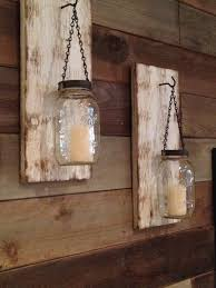 Wall Sconces Rustic Rustic Mason Jar Wall Sconce Rustic White By Bcindustrialtreasure