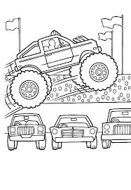monster car coloring pages coloring