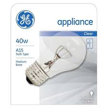 ge 40 watt a15 appliance incandescent light bulb soft white target