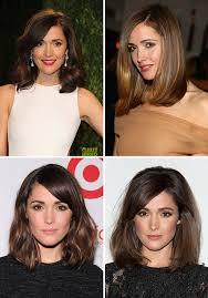 what is the clavicut haircut brunette clavicut rose byrne hair olivia palermo long bob
