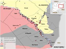 Syria Conflict Map Syria Communities In Deir Ez Zor Governorate Increasingly