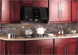 red black and white kitchen backsplash glass tile pictures brick