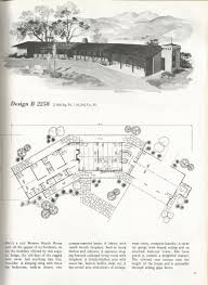 Vintage House Plans Western Ranch Style Homes Antique Vintage