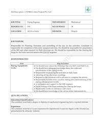 Diploma Mechanical Engineering Resume Samples by Piping Designer Cover Letter
