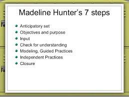 sample madeline hunter lesson plan template blank sample madeline