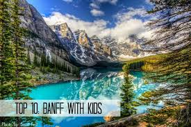 top 8 things to do with the family in banff in winter