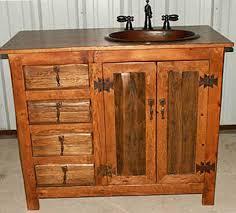 Rustic Bathroom Vanities And Sinks - rustic bathroom vanities diy home design ideas