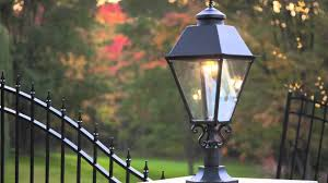 outdoor gas light fixtures welcome to american gas l works youtube