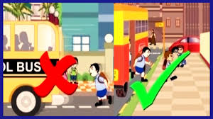 road safety for kids kids educational video rhymes4kids youtube