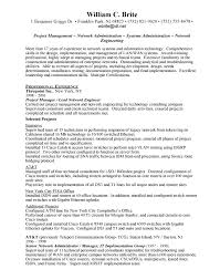 Network Administrator Skills Resume 30 Professional And Well Crafted Network Engineer Resume Samples