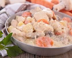 blanquette de veau cuisine az recette blanquette de dinde au cookeo