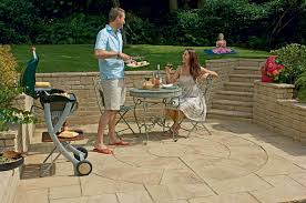 Circular Patio Kit by Heritage Riven Garden Paving Circles Marshalls Co Uk