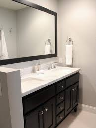 Espresso Double Vanity Bathroom Double Wide Mirrors 25 Best Bathroom Mirrors Ideas