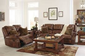 Recliner Living Room Set Walworth Auburn Reclining Living Room Set W Power Signature