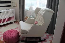 Nursery Chair And Ottoman Rocking Chair And Ottoman For Nursery Palmyralibrary Org