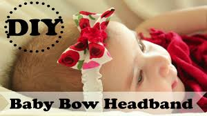 how to make baby headband diy baby bow headband how to make a no sew bow headband