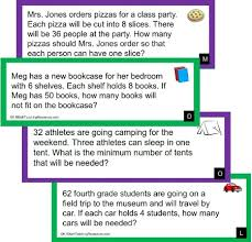 estimation word problems 4th grade 4th grade number activities
