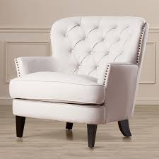 Upholstered Club Chairs by House Of Hampton Greene Tufted Upholstered Club Chair Furniture