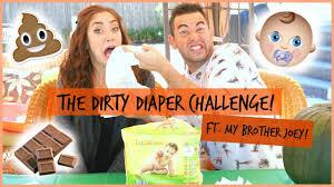 halloween challenge part 1 the dirty diaper challenge ft my