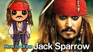 how to create a captain jack sparrow pirate costume how to draw captain jack sparrow pirates of the caribbean youtube