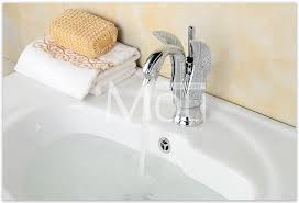 Swan Faucet Gold Bathroom Swan Faucet Chrome Finish Oil Rubbed Bronze Rose Gold
