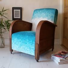 Turquoise Armchair Art Deco Club Armchair Serene White Turquoise Chalk U2013 Duncombe