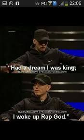 Eminem Rap God Meme - eminem the best rapper in the whole world meme by maggs0405