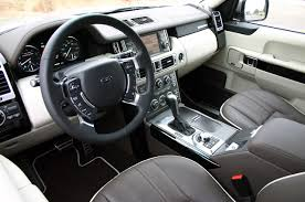 land rover interior 2011 land rover range rover supercharged wallpapers original