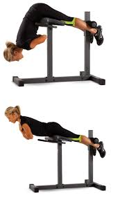 Adjustable Hyperextension Bench Abdominal Exercisers 15274 Ghd Machine Bench Hyperextension