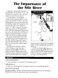 all worksheets ancient egypt worksheets for middle
