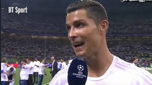 watch cristiano ronaldo u0027s post match interview as he explains why