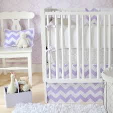 Lavender And Grey Crib Bedding Lavender And Gray Chevron Crib Bedding Syrup Denver Decor