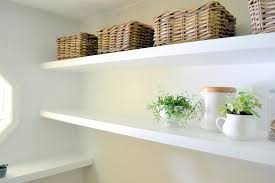 Heavy Duty Floating Shelves by Finally How To Create Long Deep Shelves That Aren U0027t Bulky