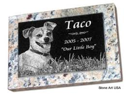 dog grave markers stoneartusa custom pet memorials more since 2001