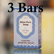 Gluta Soap 3 bars gluta soap whitening skin care glutathione mix 70g