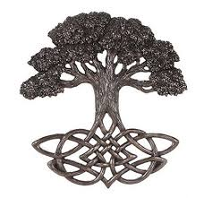 celtic tree of knotwork decorative wall plaque 13 inch