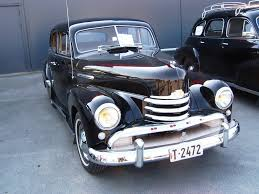 opel kapitan 1952 opel kapitan information and photos momentcar