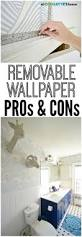 best 25 apartment wallpaper ideas on pinterest rental house comparing peel and stick removable wallpaper with traditional pasted wallpaper i ve
