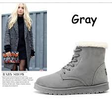 s boots with fur boots warm fur s ankle boots kaaum
