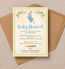 rabbit baby shower rabbit baby shower invitation from 0 80 each