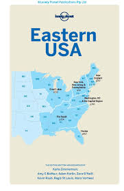 Map Eastern Usa by Lonely Planet Eastern Usa Travel Guide Lonely Planet Karla