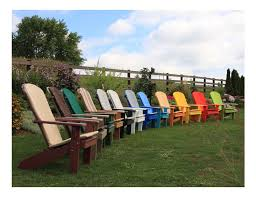 Recycled Plastic Outdoor Furniture Extraordinary 20 Recycled Plastic Adirondack Chairs Design