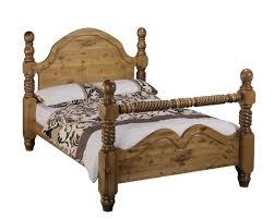 Santos Antique Pine Bed Frame 100 Bed Base For Sale Kitchen Captivating Size Wooden