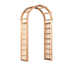 Garden Trellis Archway Arbors U0026 Trellises Garden Center The Home Depot